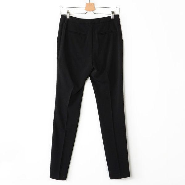 【MASTINA】飄逸直筒西裝褲-黑 好康優惠