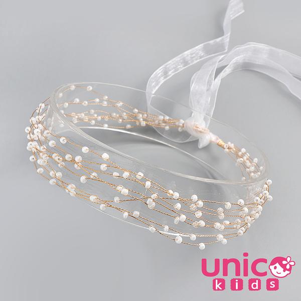 UNICO 兒童 森林系小公主表演禮服最佳配飾髮帶