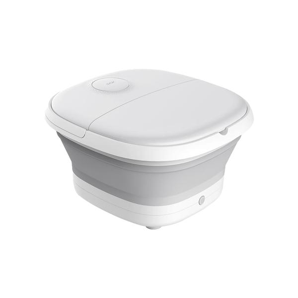 現貨 艾斯凱折疊足浴盆泡腳桶家用自動按摩電動加熱同款恒溫足浴盆台灣 110V