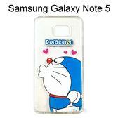 哆啦A夢空壓氣墊軟殼 [嘟嘴] Samsung Galaxy Note 5 N9208 小叮噹【正版授權】
