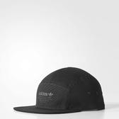 adidas 五分割帽 帽子 NMD 5 Panel Cap 黑 皮繩調整 男款【PUMP306】 BR4685