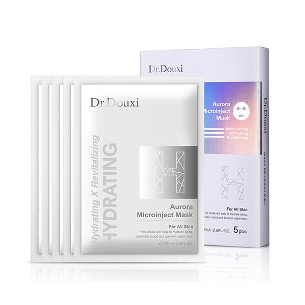 Dr.Douxi朵璽 極光微導保水面膜 五片/盒 【康是美】
