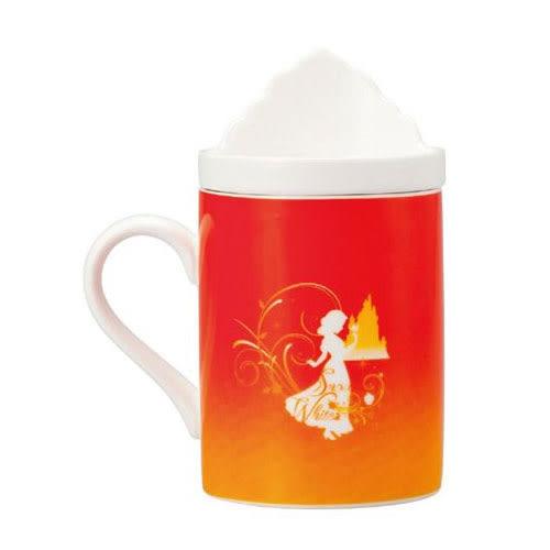 《sun-art》迪士尼公主陶磁馬克杯附造型蓋(白雪公主)★funbox生活用品★_NR23255
