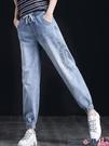 熱賣牛仔褲 牛仔褲女2021年新款春秋季寬鬆直筒褲高腰顯瘦顯高垂感小腳褲子潮 coco