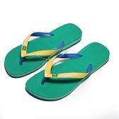 HAVAIANAS 哈瓦仕 人字拖 巴西 BRASIL MIX 巴西國旗 綠黃 男 (布魯克林) 41232062078U