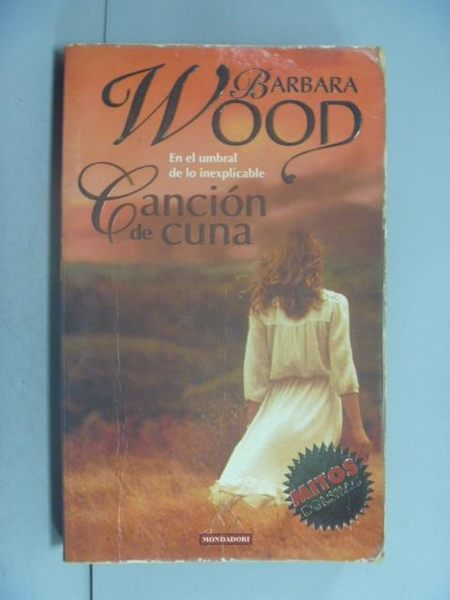 【書寶二手書T2/原文小說_LDW】Cancion de Cuna_Barbara Wood