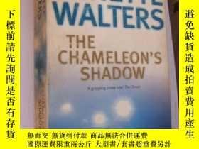 二手書博民逛書店The罕見chameleon s shadow(Minette