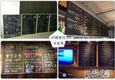 店鋪黑板掛式寫字板創意餐廳留言板家用早教辦公展示公告欄小黑板WD 晴天時尚館