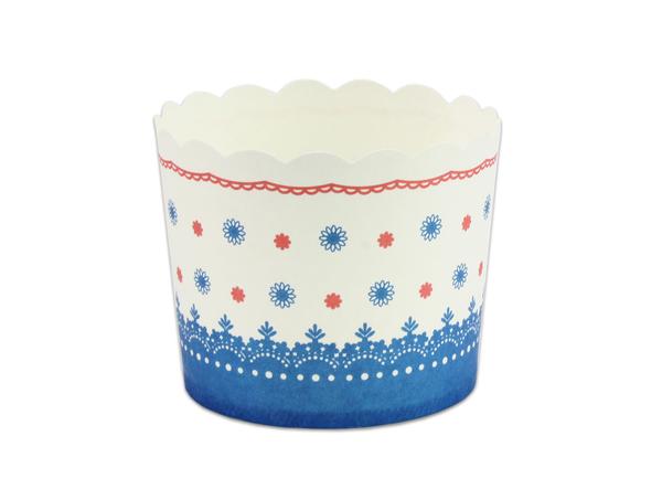 2017新款 25入 160CC戚風蛋糕杯(大) 烘烤紙杯 馬芬杯 蛋糕盒 【F6256A】杯子蛋糕盒 紙杯