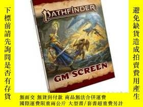二手書博民逛書店Pathfinder罕見GM Screen (P2)Y34646