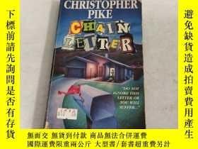 二手書博民逛書店Chain罕見Letter《連鎖信—克裏斯托弗 派克著》Y141760 Christopher Pike (A