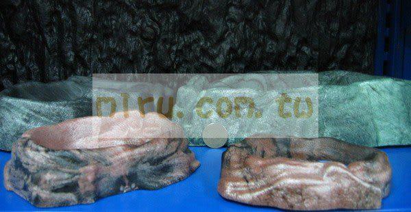 【西高地水族坊】ZOO MED(ZOOMED) 爬蟲專用、石製原始水盤(M)