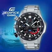 CASIO手錶專賣店   CASIO EDIFICE_EFR-558DB-1A_礦物玻璃_碼錶_不鏽鋼錶帶_男錶