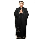海青(黑色)附海青袋53號 身高163-164公分 【十方佛教文物】