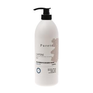 Puret e燙染修護咖啡因胺基酸洗髮精-經典白茶