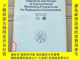 二手書博民逛書店objectives罕見and design of environmental monitoring progra