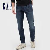 Gap男裝深色水洗五口袋牛仔褲539144-藍色