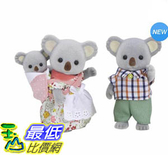 [COSCO代購] W128768 森林家族無尾熊家庭組