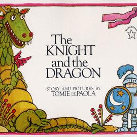 【麥克書店】『童書久久書單』THE KNIGHT AND THE DRAGON /繪本