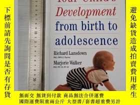 二手書博民逛書店Your罕見child s development from b