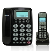 數位無線2.4G高頻 子母機電話 (黑/灰/紅)【多廣角特賣廣場】