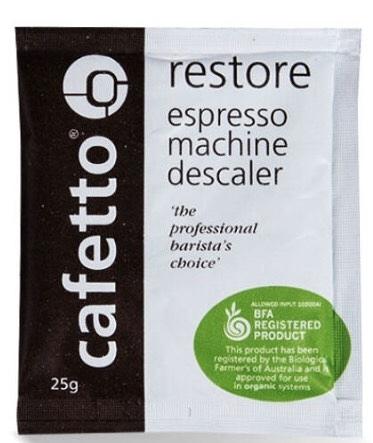 金時代書香咖啡 澳洲 Cafetto RESTORE DESCALER 除水垢粉 25g/包 CA-E28303-1