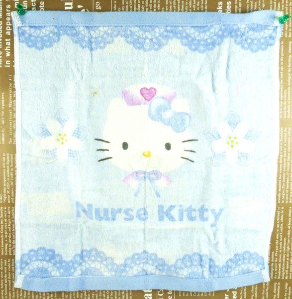 【震撼精品百貨】Hello Kitty 凱蒂貓~大方巾~藍色格子