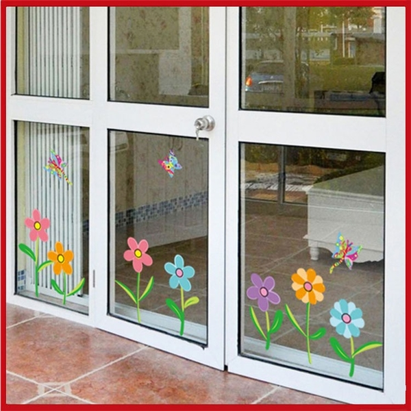 壁貼-繽紛花朵踢腳線 AY7240-580【AF01013-580】i-Style居家生活
