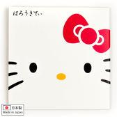 Hello Kitty吸油面紙 日製白色方型大臉金箔吸油面紙(50入) [喜愛屋]