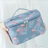 小雛菊化妝包便攜韓國簡約大容量收納盒袋箱少女心洗漱ins風超火 好樂匯