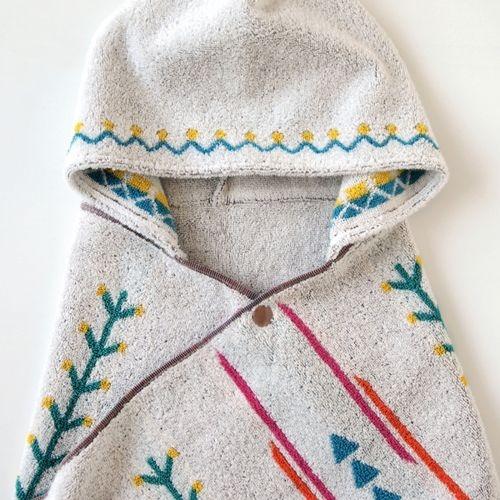 Hoppetta - BOBO - 小樹苗連帽浴巾
