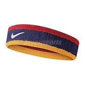 Nike 頭帶 Swoosh HeadBand 藍 黃 紅 男女款 勾勾 棉 毛巾布 髮帶 【ACS】 N000154442-8OS