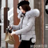 棉衣女新款韓版短款棉襖oversize冬裝羽絨棉服學生冬季外套女   MOON衣櫥