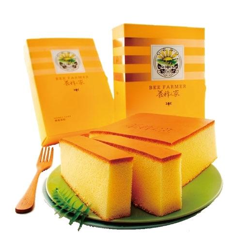 蜂蜜蛋糕480g (蛋糕/蜂蜜/花粉/蜂王乳/蜂膠/蜂產品專賣)【養蜂人家】