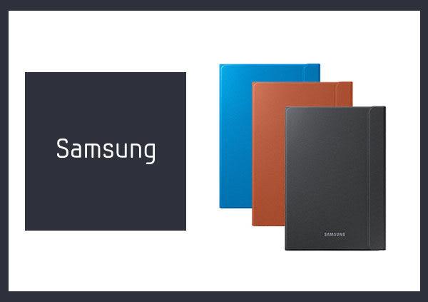 *全館免運*【拆封新品】SAMSUNG GALAXY Tab A 9.7 原廠書本式皮套_橘色/藍色 (盒裝)