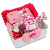 《 POLI 波力 》LED變形安寶 - 手提基地   ╭★ JOYBUS玩具百貨