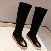 長靴/高筒靴-長筒靴女過膝靴子女秋款彈力靴女短靴春秋單靴ins網紅瘦瘦靴 多麗絲