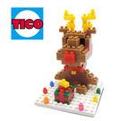 【Tico微型積木】聖誕系列-馴鹿 T-9222