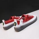 休閒鞋 同款菊花透氣小白鞋2020夏新款韓版時尚果凍色休閒鞋軟底女潮「草莓妞妞」