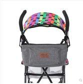 嬰兒車掛包配件寶寶出行尿不濕奶瓶收納包牛仔包置物包  K-shoes