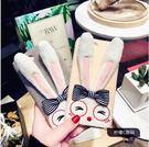【SZ25】日韓卡通毛絨兔子iPhone...