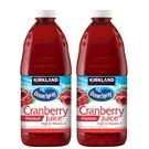 [COSCO代購] KIRKLAND SIGNATURE 蔓越莓綜合果汁飲料 每瓶2.84公升X2入 CA596444