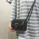 包包女新款時尚皮帶小方包百搭小包包簡約復古側背包斜背女包