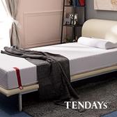 床墊-TENDAYs 3.5尺 單人加大22cm厚-柔織舒壓記憶床墊