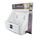 強力吸壁衛浴斜口收納籃(小) TYH-38450