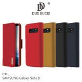 【愛瘋潮】DUX DUCIS SAMSUNG Galaxy Note 8 WISH 真皮皮套 側翻皮套 側掀皮套 手機套