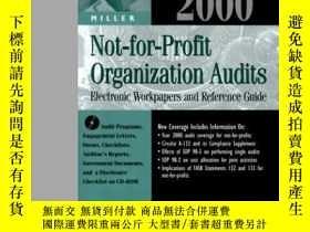 二手書博民逛書店Miller罕見2000 Not-for-profit Organization Audits: Electron