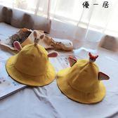 好康618 軟妹漁夫帽女夏女學生情侶親子盆帽