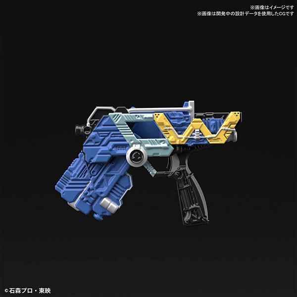 【BANDAI】組裝模型 Figure-rise Standard 假面騎士W 月神槍手形態