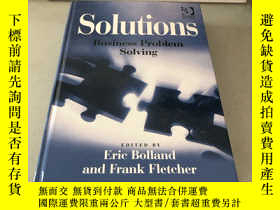 二手書博民逛書店Solutions:罕見Business Problem Sol